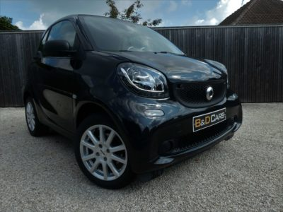 smart forTwo 1.0i Passion 1steHAND/1MAIN NETTO: 7.429 EURO bei B&D Cars in 8791 Beveren-Leie